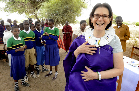 Naomi Sarna Maasia School Tanzania