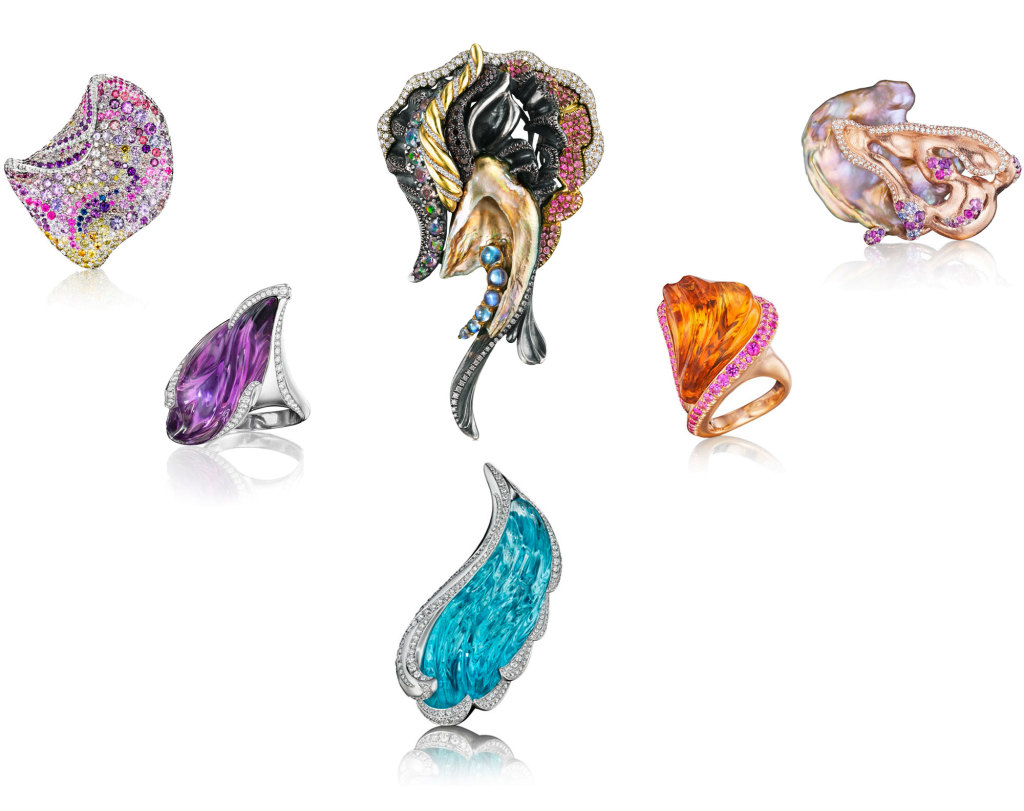Naomi Sarna Designs Award Winning High Jewelry