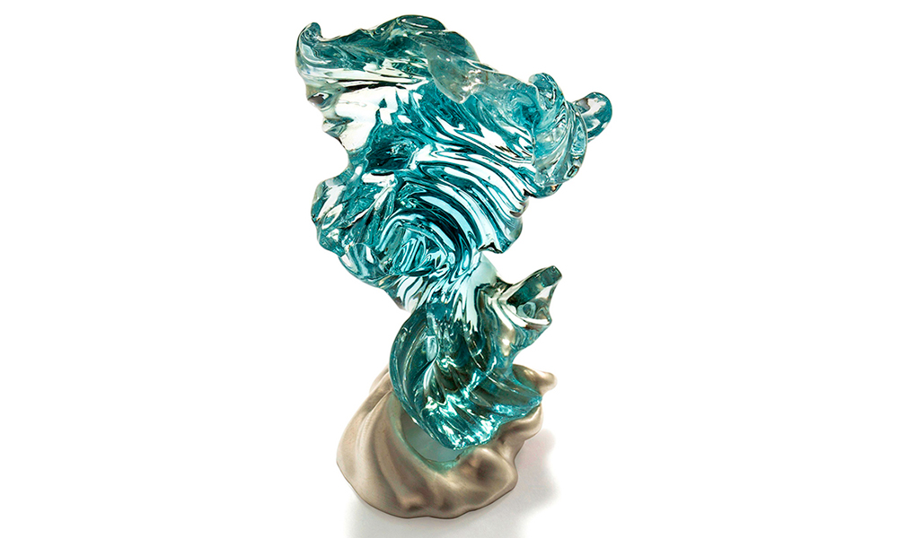 River Wind Topaz Carving