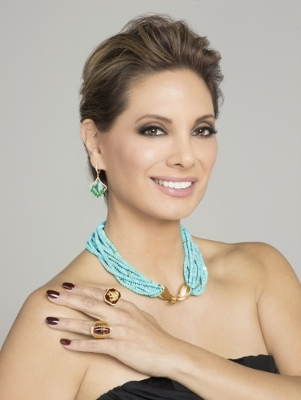 Alex Meneses ATGA Spectrum Awards 2016 Naomi Sarna Necklace