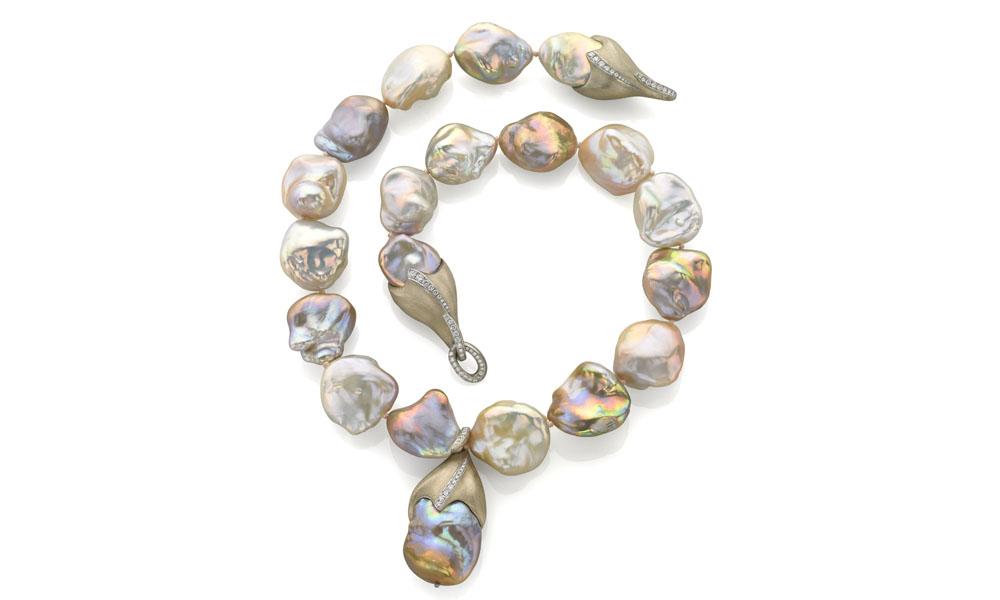 Best Use of Pearls AGTA 2016 Spectrum Award Naomi Sarna Designs
