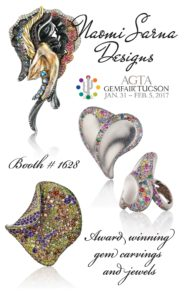AGTA EMAIL 2017 opt | Visit us at Tucson GemFair 2017 and Awards Ceremony
