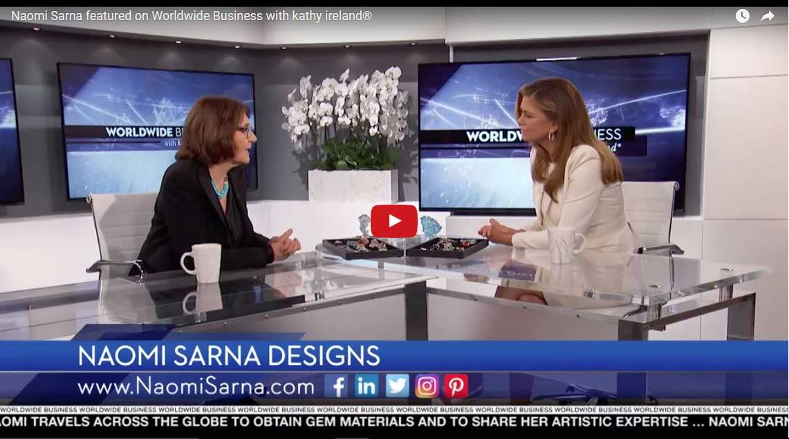 Naomi Saran on Worldwide Business with kathy ireland