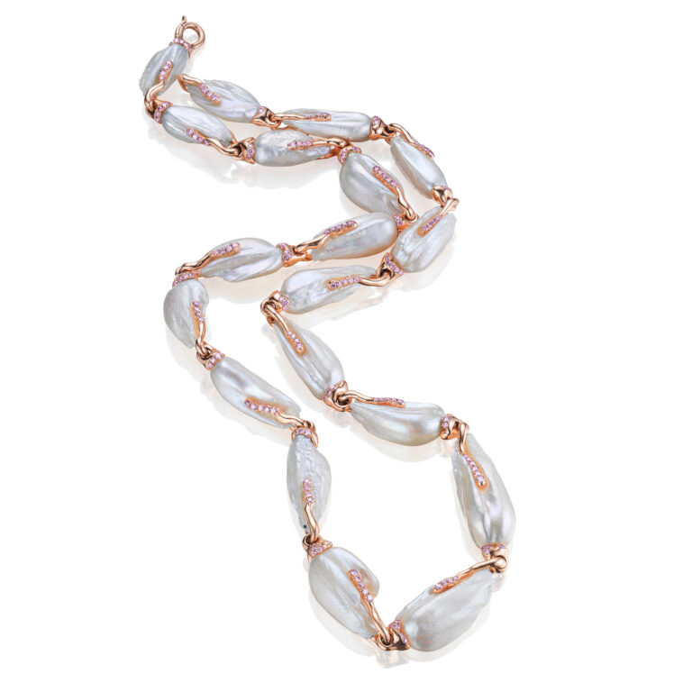 Egret Pearl Necklace