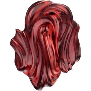 Almandine Garnet Carving