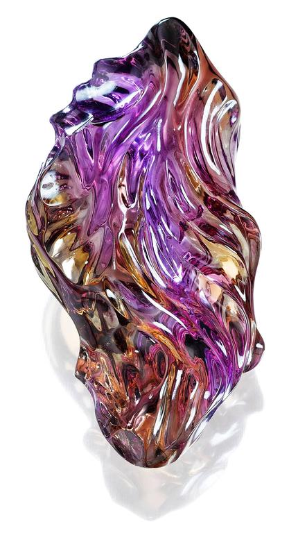 Purple Gold Carving