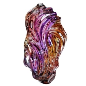 Purple Gold Naomi Sarna Ametrine Carving
