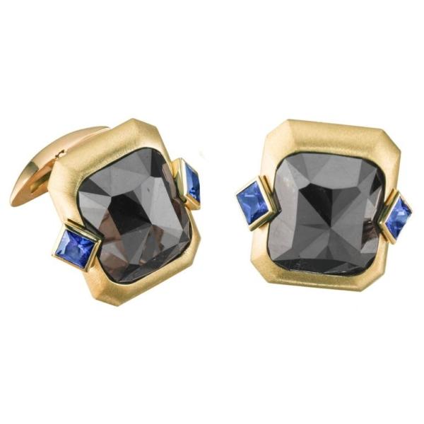 Black Diamond Cufflinks org l 1 | Midnight Blue Cuff Links