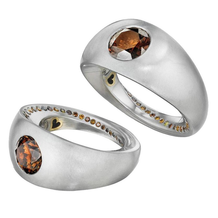 Lover's Rings - Matching Diamond Rings