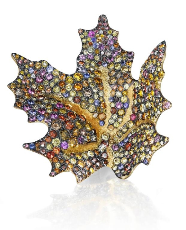 Maple Leaf Earring Single