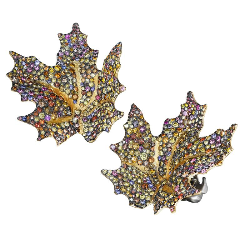 Maple Leaf Earrings Naomi Sarna