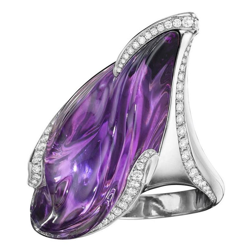 Purple Twilight Ring