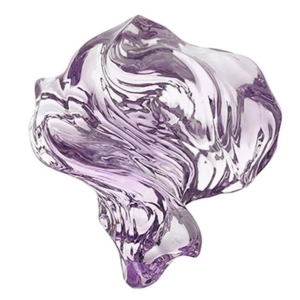 Rose de France Amethyst Carving