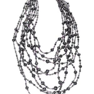 Starry Night Black Diamond Necklace
