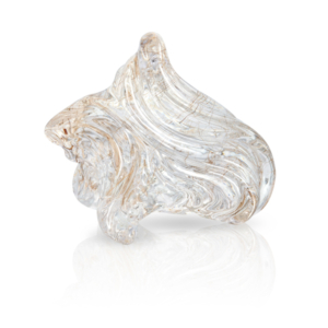 Award-Winning Rutilated Quartz Carving