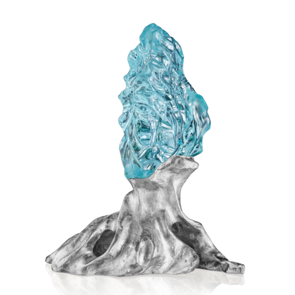 Winter Rain Aquamarine Carving Naomi Sarna