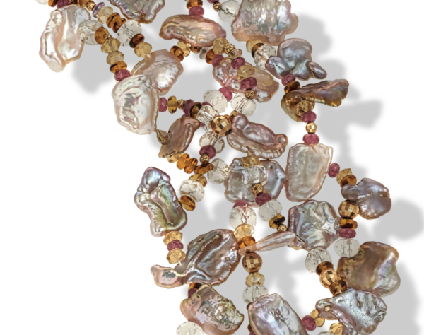 AutumnBreeze-KeshiPearls-RockCrystalBeads-PinkTourmalineBeads-14kGoldBeads-TortoiseshellGlassBeads-18KgoldClasp-NaomiSarna-Crop
