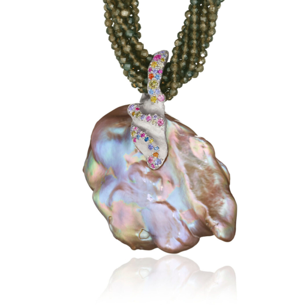 Florette Necklace and Pendant