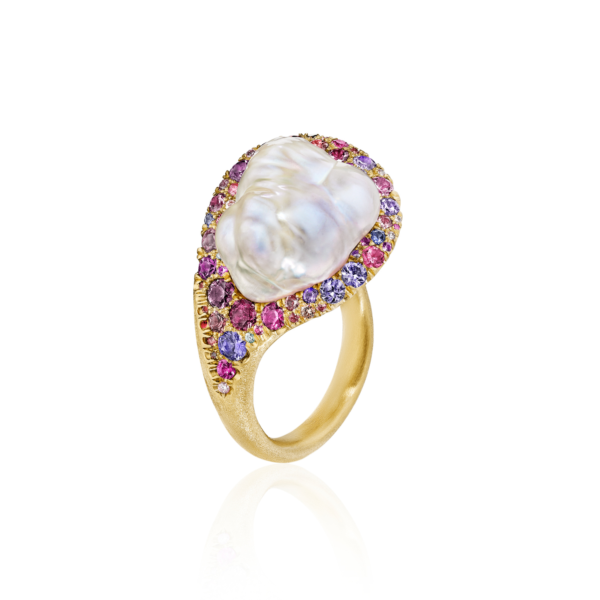 Summer Bouquet Pearl Ring