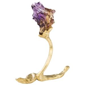 Ametrine Iris 174 carats Naomi Sarna Gemstone Carving