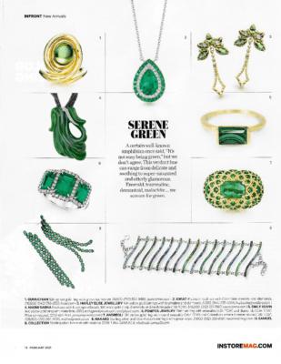 InStore Magazine Serine Green Naomi Sarna