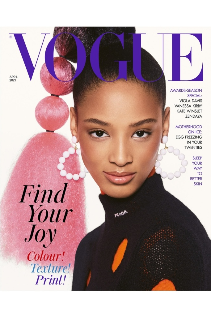 British VOGUE April 2021 Cover 3
