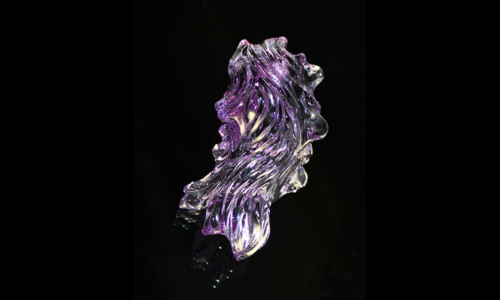 Amethyst Carving . 84.73 x 40 x 46 mm. 64 ct.