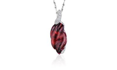 Rhodalite Garnet Pendant